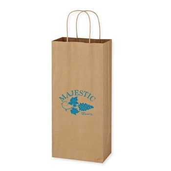 Kraft Paper Brown Wine Bags
