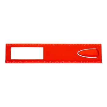Magnifier Ruler With Bookmark