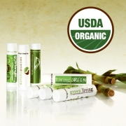 Organic Lip Balm - USDA Certified
