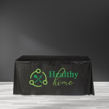 "Recyclable Plastic Table Cover - 65"" x 65"""