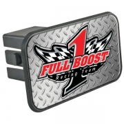 Trailer Hitch Cover with N-Dome