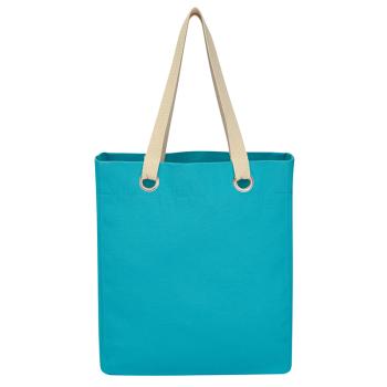 Vibrant Cotton Canvas Tote Bag