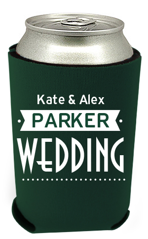 Wedding Can Coolers 12