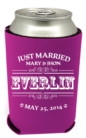 Wedding Can Coolers 40