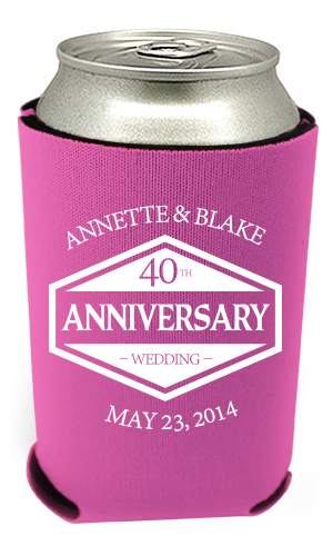 40th Anniversary Can Coolers 2