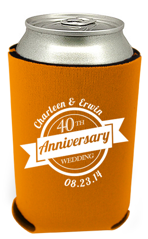 40th Anniversary Can Coolers 4