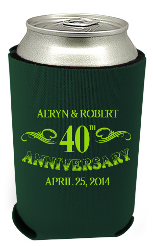40th Anniversary Can Coolers 5