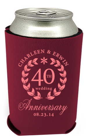 40th Anniversary Can Coolers 7