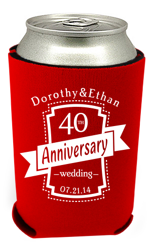 40th Anniversary Can Coolers 9