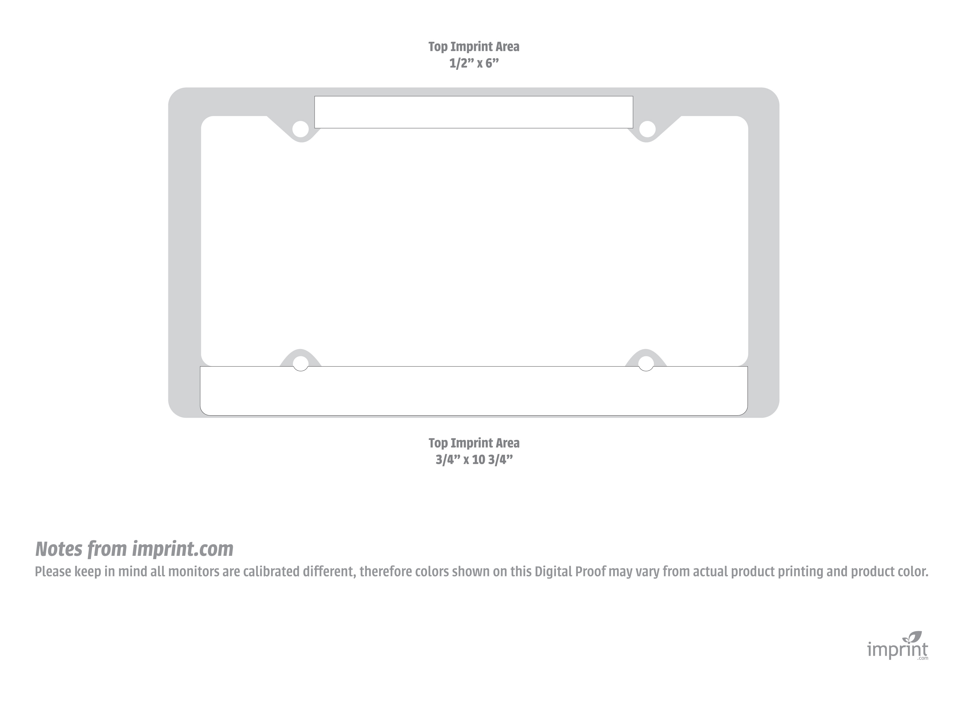 photo regarding Make Your Own Printable License Plate referred to as Item Templates - 24HourWristbands.Com