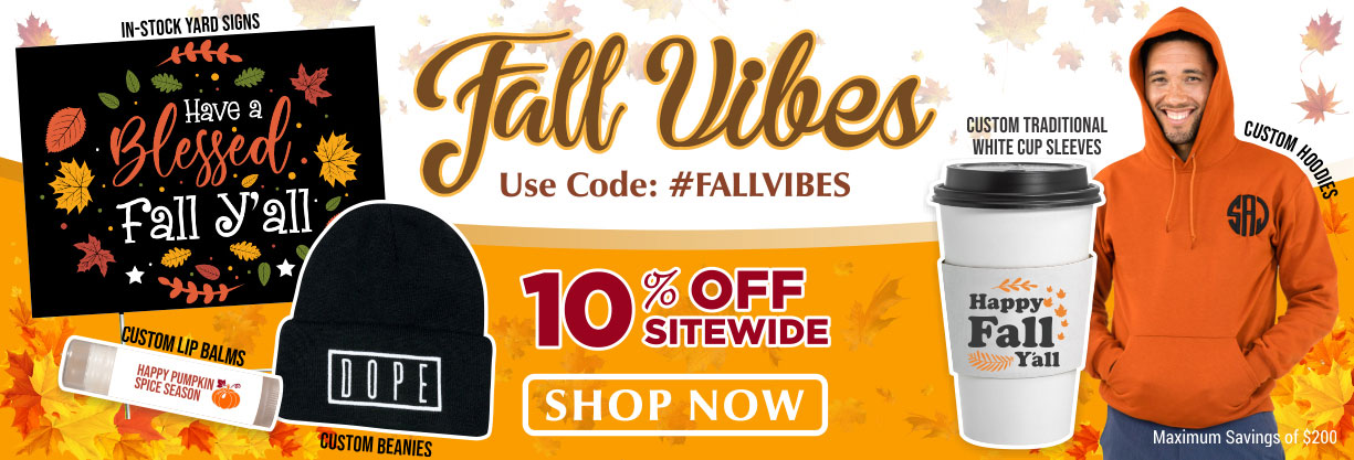 Customizable Promotional Product - Fall Vibes