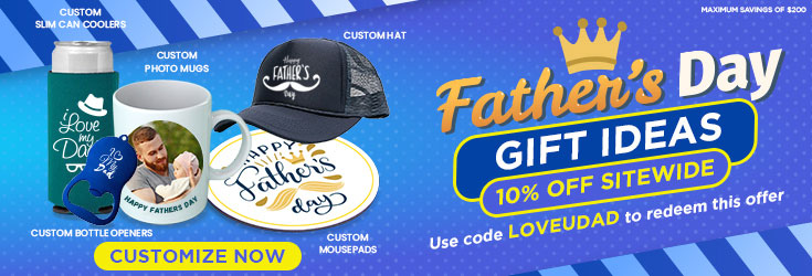 Customizable Promotional Product - Father's Day 2021