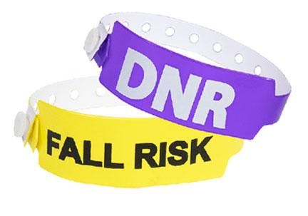 Custom Medical Alert Tyvek Wristbands