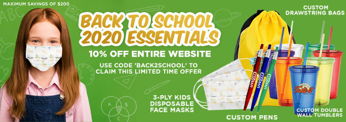 Custom Back To School Promotional Products