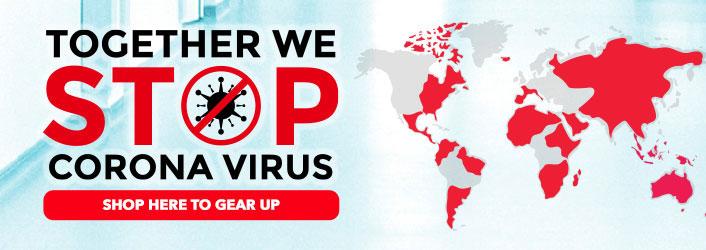 Stop Coronavirus - Flatten The Curve