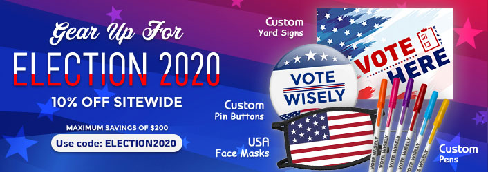 Custom Political Promotional Products