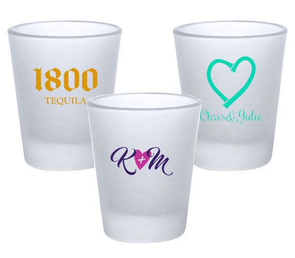 Custom Frosted Shot Glass - 1.75oz