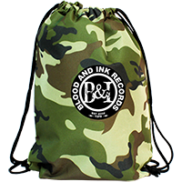 Custom Simply Camo Drawstring Bags